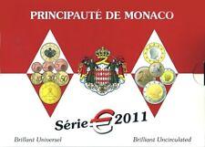 MONACO, BU 2011, 7 000 pieces. Contains complete 2011 set + 2 € Mariage.