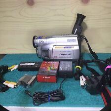 JVC GR-FXM39EK COMPACT VHS-C PAL CAMCORDER 700X DIGITAL ZOOM TFT MATRIX LCD