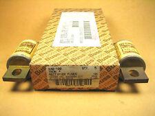 Cooper Bussmann -  KAB-100 -  Rectifier Fuse, Symbol & Amperes, 250V (Lot of 7)