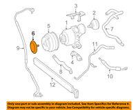 MERCEDES OEM 11-14 CL63 AMG Rear Suspension-Pulley Cap 2780310233