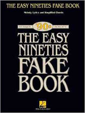 The Easy Nineties Fake Book Melody Lyrics Chords In C Simplified Book (Fake Book