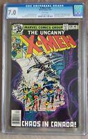 THE UNCANNY X-Men #120 CGC 7.0 WHITE PAGES #1073857014 1st app Alpha Flight 1979