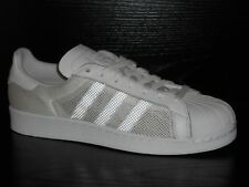 adidas Superstar Triple Mens Trainer Shoe UK Size 8 White