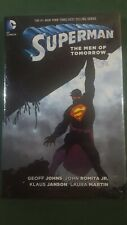 Superman The Men of Tomorrow Geoff Johns NEW Hard Cover GN HC