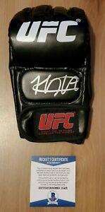 Khabib Nurmagomedov Signed Autographed UFC Glove COA BAS Beckett #z10426