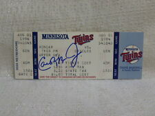 Cal Ripken Jr. Signed Orioles 2000th Game Ticket Minnesota Twins JSA M55164