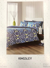 Kingsley Teal Jewel Double Duvet Set