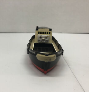BULSTRODE Thomas & Friends Railway Boat Barge TOMY 1999 Wheels Trackmaster