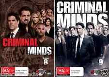 Criminal Minds : Season 8 & 9 : NEW DVD
