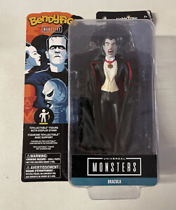 """Bendyfigs UNIVERSAL MONSTERS DRACULA Action Figure 7"""" cm di altezza Nuovo"""