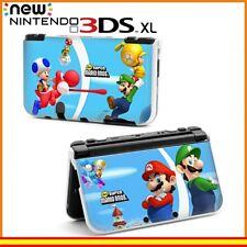 Funda Protector Nintendo New 3DS XL Carcasa Dibujos Mario y Luigi