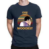 Jean Ralphio The Wooorst Vintage Graphic T Shirt Black Navy Cotton Men Tee Top