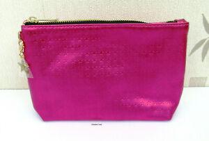 Yves Saint Laurent Medium Sized Soft Fuchsia Pink  Beaute Make Up/Clutch Bag