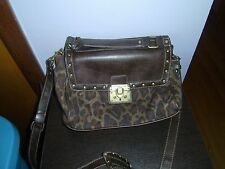 Stylish Leopard Print Handbag/Shoulder Bag-Material/Faux Leather