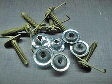 6 pcs door body side belt moulding trim clips & nuts neoprene sealer Mopar NOS