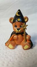Vintage Amscan Wizzard Bear Figure with Wand