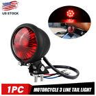 Motorcycle LED Rear Brake Tail Light Fit For Harley Cafe Racer Bobber Chopper US