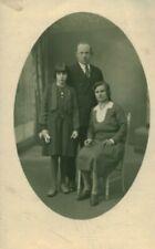 Carte Photo ancienne famille vendéenne Mr et Me Chevalier et Nini