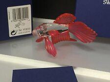 Swarovski Figurine Red Veil Betta 8,5 cm Boxed & Certificate