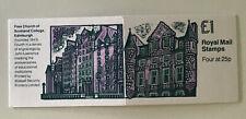 GB QEII 1993 £1 Booklet FH31 Free Church Of Scotland College Cyl W2 W2