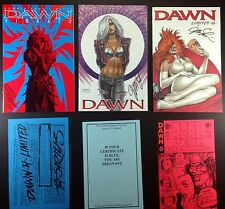Dawn Cry for Dawn Tears Crypt 1 3 4 5 6 lot of 8 limited signed editions Linsner