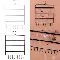 Wall Earring Organizer Hanging Holder Necklace Display Stand Rack Holder