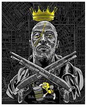 The Wire Omar Biggie Smalls Print Poster by Mondo Artist Tim Doyle S/N /150