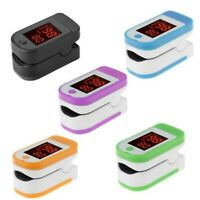 Fingertip Pulse Oximeter Heart Rate Blood Pressure Saturation SpO2 Monitor