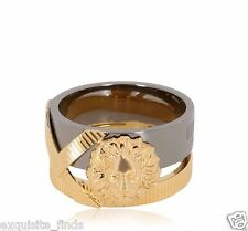 New Anthony Vaccarello X Versus Versace lion ring for Women sz 6