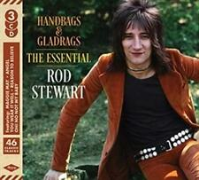 ROD STEWART - HANDBAGS & GLADRAGS: THE ESSENTIAL 3CDS (NEW/SEALED)