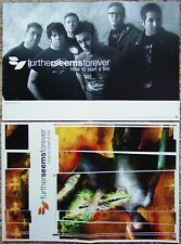 Further Seems Forever How To Start A Fire Promo Two Sided Poster Jason Gleason