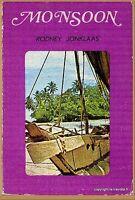 MONSOON Rodney JONKLASS - E.O. avec envoi de l'auteur 1975 - plongée aventures