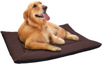 Self Warming Pet Bed Cushion Pad Dog Cat Cage Kennel Crate Soft Cozy Mat