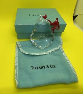 Tiffany And Co. Ornament 1987