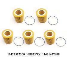 5PCS For BMW E36 Z3 E46 E60 E83 X3 325xi 525i Z3 Z4 Oil Filter Kit 11427512300
