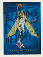 2017-18 Panini Ascension REACHING NEW HEIGHTS #RN-AD ANTHONY DAVIS Lakers