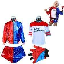 Child Kids Harley Quinn Halloween Cosplay Costumes Girl Suicide Squad Clothes