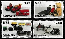 Denmark 1995 Mnh Toys Sc# 1037-1040 Mint/Never Hinged