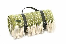 Carrying Strap for picnic blanket throw travel rug - Black webbing CARRY STRAP