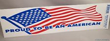 WHOLESALE LOT 100 PROUD TO BE AN AMERICAN USA FLAG STICKERS U.S. decal patriotic