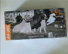 SportDOG Wire & Flag Kit SDF-WF In-Ground Fence System 500ft 50 Flags 1/3rd Acre
