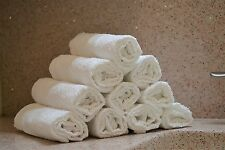 24pk COTTON BAR MOP KITCHEN TOWEL 17 X 20 HOTEL SPA RESTAURANT BARS WHITE NEW