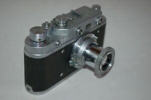 Zorki-C Vintage 1957 Rangefinder Camera and Industar-22 lens. 57051454. UK Sale