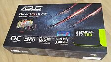ASUS NVIDIA GeForce GTX 780 (3072 MB) (GTX780-DC2OC-3GD5) tarjeta de gráficos