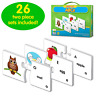 The Learning Journey: Match It! - ABCs - Phonics and Pre-Reader Matching Puzzle