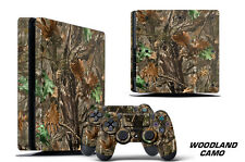Skin Decal Wrap For PS4 Slim Playstation 4 SLIM Console + Controller Stickers WC
