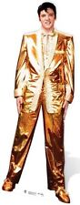SC-318 Elvis Presley Gold Lame Suit  Aufsteller Pappaufsteller