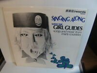Singing Along with the Girl Guides 1971 LP BBC RED 67M