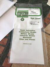 "Evergreen Sheet Styrene Sidewalk .040"" Thick 3/8"" (9.5mm) Squares #4517"