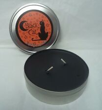 Black Cat Crystal Journey Reiki Double Wick Candle: Travel Tin (New, Magick)